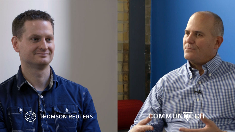 Video interview on Thomson Reuters Labs and Communitech partnership.