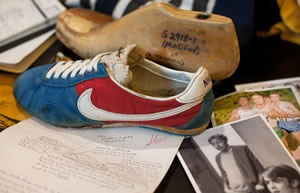 nike blue ribbon sports by bill bowerman Nike co-founder phil knight: i was told i wouldn't make it  knight co-founded nike under the name blue ribbon sports with a $500 investment from his former track coach, bill bowerman he made.